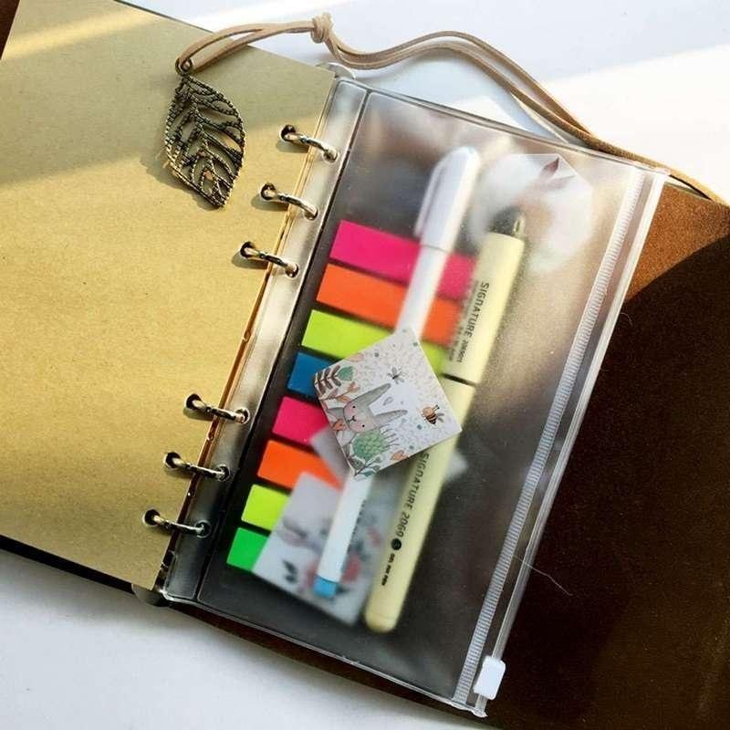 Envelope zip lock