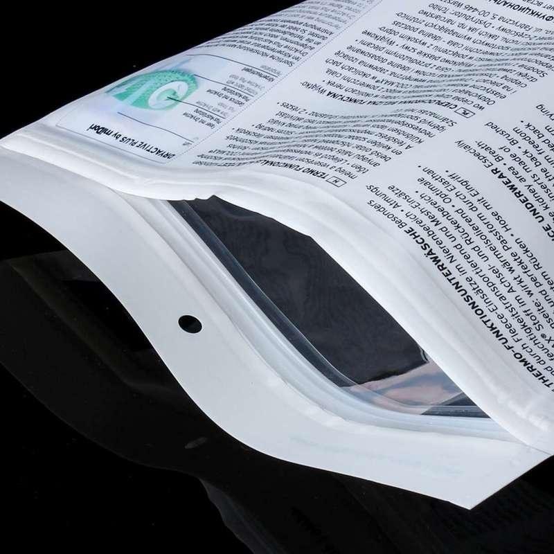 saco plástico zip personalizado
